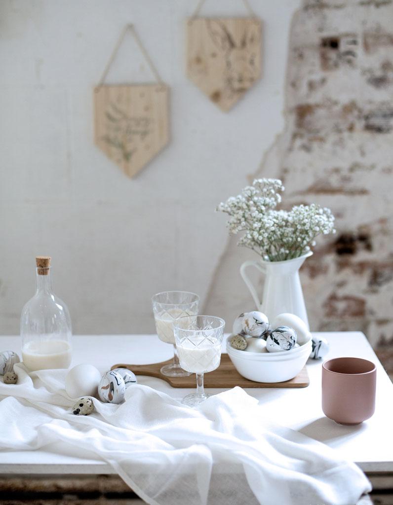 Decoration de table paques nos meilleures idees pour une for Idee deco cuisine avec pinterest deco paques