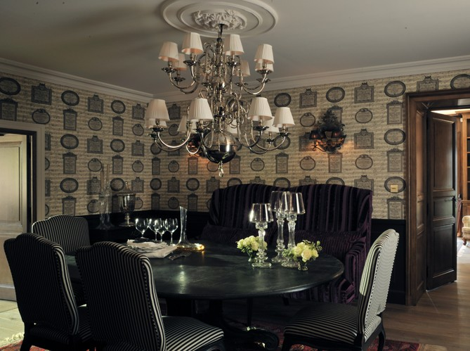 Des salles manger pour tous les styles elle d coration for Deco salon baroque moderne