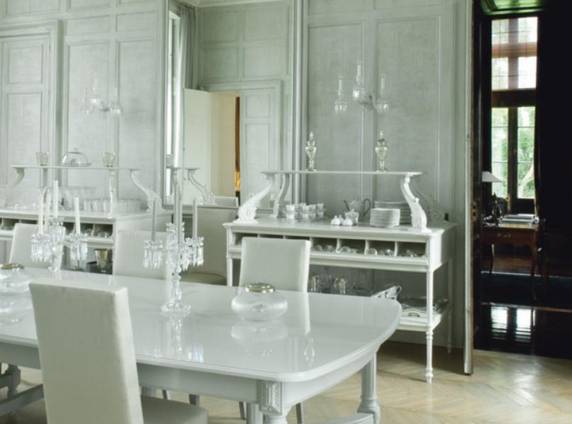 Des salles manger pour tous les styles elle d coration for Table de salle a manger style baroque