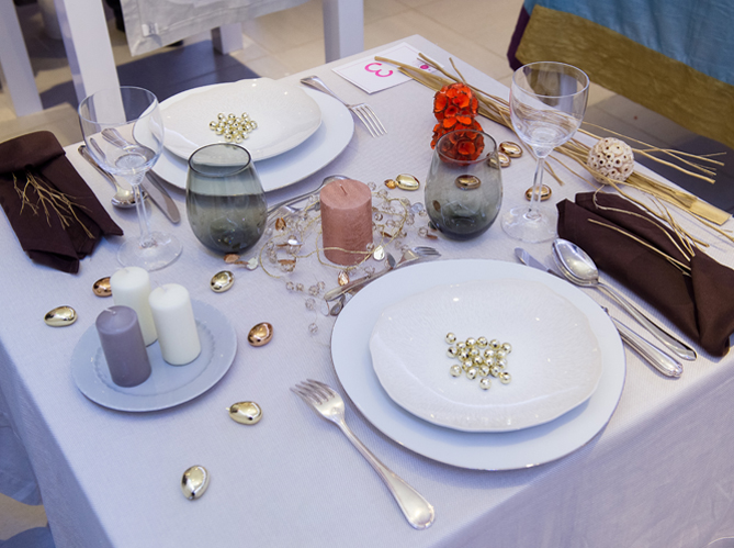 Les plus jolies tables de france elle d coration - Salon art de la table ...