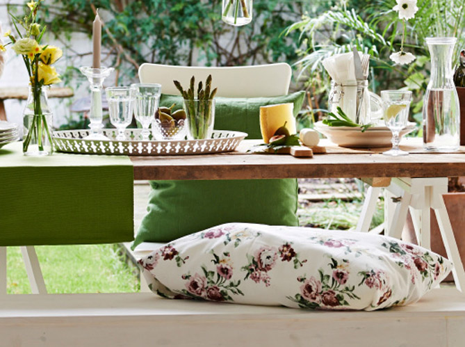 comment r ussir une d co de table champ tre elle d coration. Black Bedroom Furniture Sets. Home Design Ideas