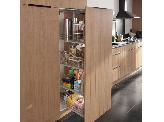 30 meubles de cuisine pour faire le plein de rangements for Glissiere porte coulissante meuble