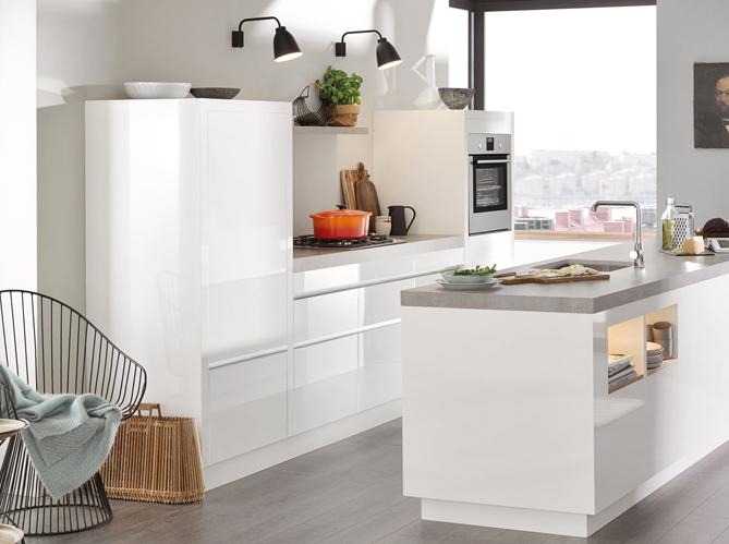 Votre r frig rateur est il bien int gr dans votre cuisine for Deco utile cuisine
