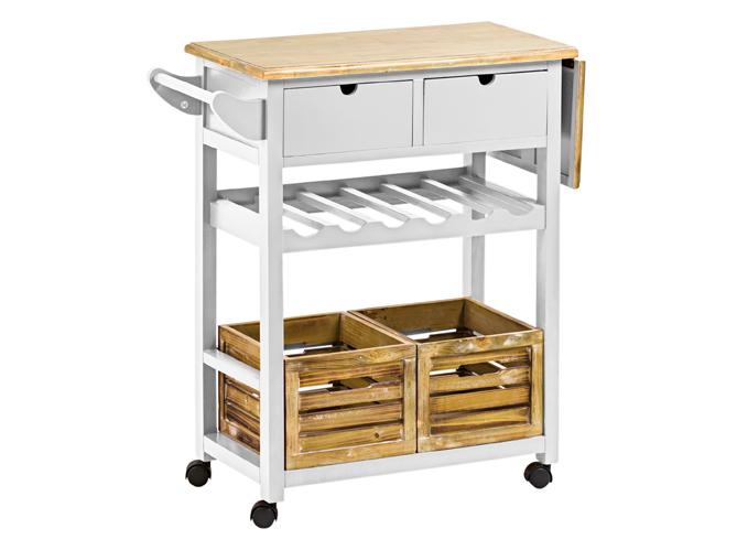 la desserte le nouveau chariot de cuisine tendance elle d coration. Black Bedroom Furniture Sets. Home Design Ideas