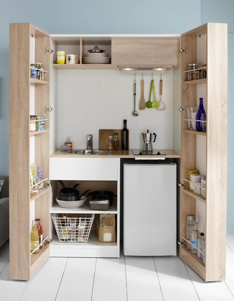 cuisine dans placard dn96 jornalagora. Black Bedroom Furniture Sets. Home Design Ideas