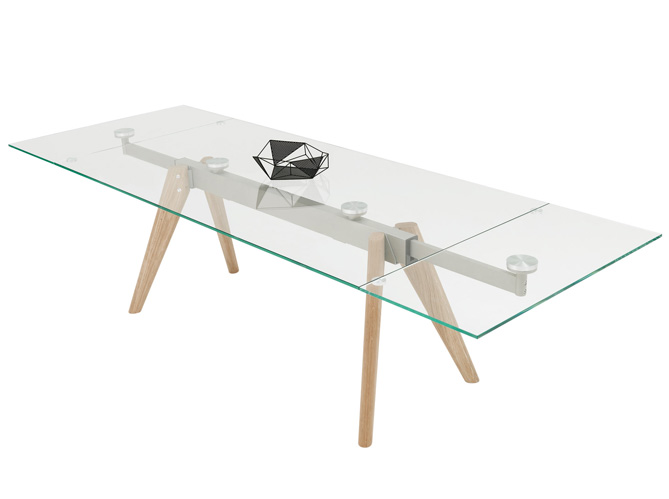 Table rallonges du mobilier aussi pratique que convivial elle d coration Table rallonge design