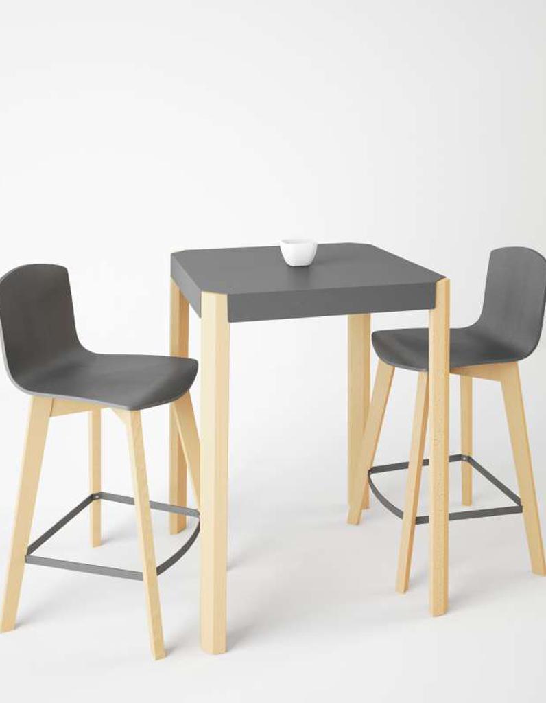 D couvrez les plus belles tables de cuisine du moment for Table cuisine 4 pieds