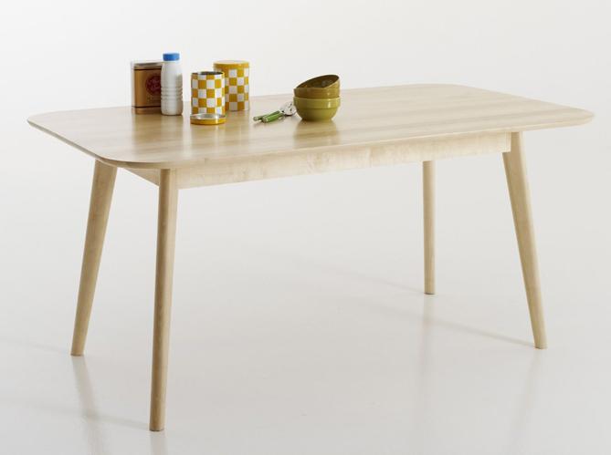 Quelle table pour ma cuisine elle d coration - Table rectangulaire de cuisine ...