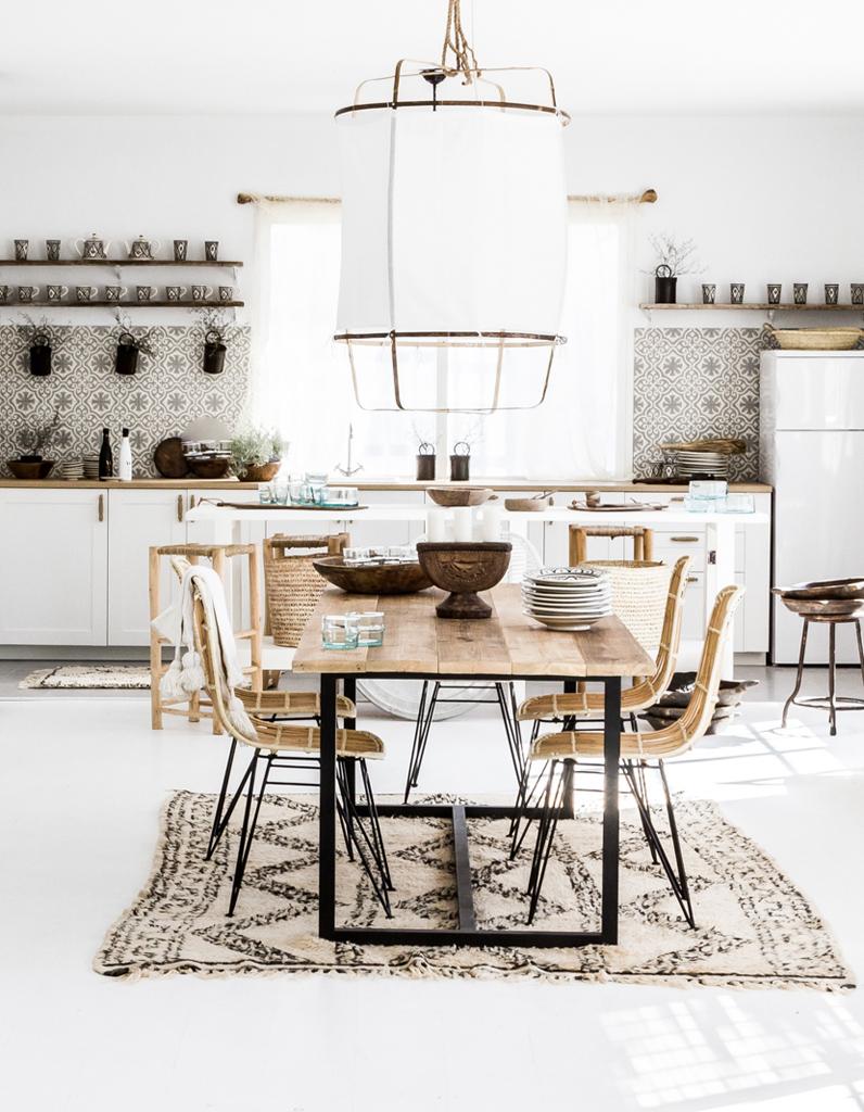 Nos Idées Décoration Pour La Cuisine Elle Décoration - Table murale cuisine but pour idees de deco de cuisine