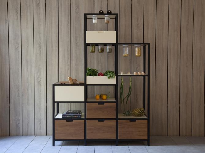L objet d co du jour le meuble de rangement kann design for Meuble cuisine rangement