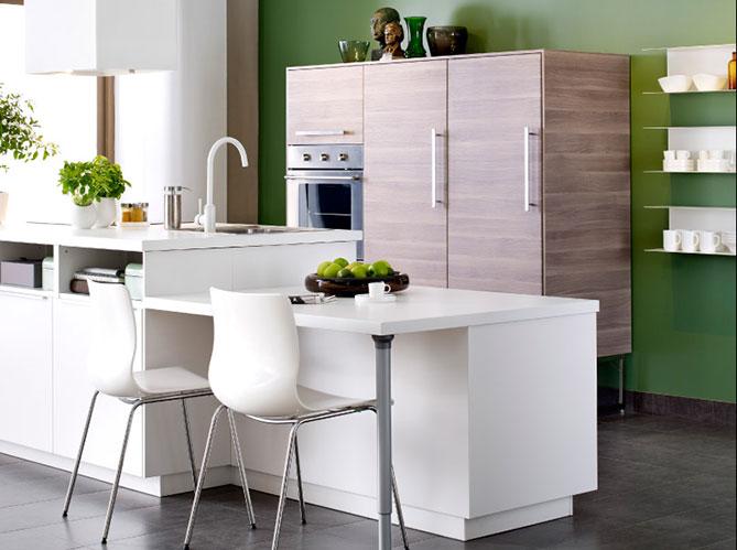 mettez de la couleur en cuisine elle d coration. Black Bedroom Furniture Sets. Home Design Ideas