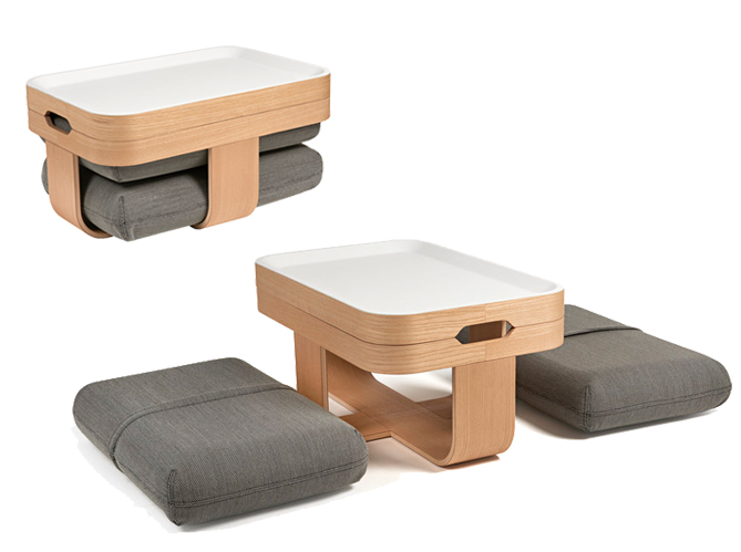 20 solutions g niales pour optimiser l 39 espace elle d coration. Black Bedroom Furniture Sets. Home Design Ideas