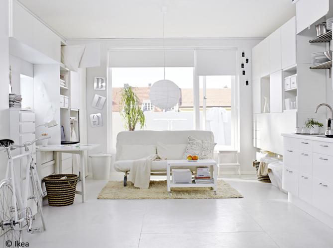3 astuces pour am nager un petit studio elle d coration. Black Bedroom Furniture Sets. Home Design Ideas