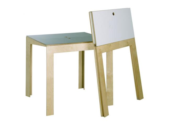 40 meubles super pratiques pour gagner de la place elle for Table pliante pour studio