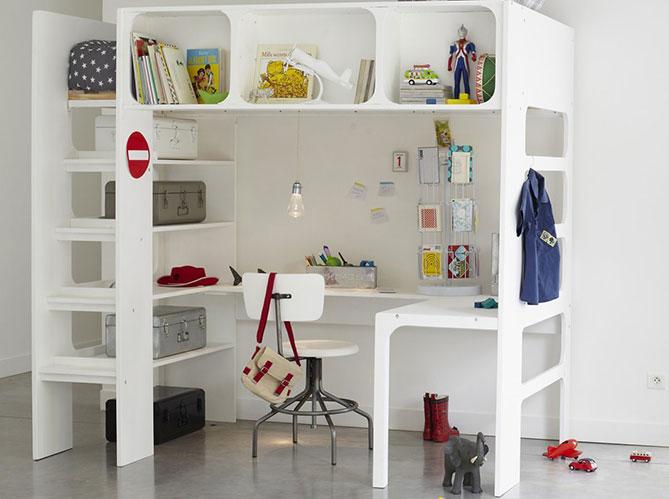 6 bonnes id es retenir pour les petites superficies - Lit dans le salon ...