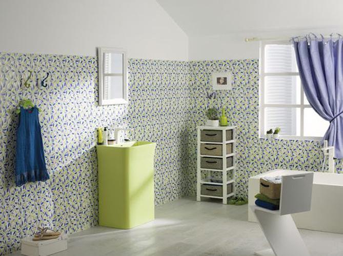 50 salles de bains romantiques elle d coration. Black Bedroom Furniture Sets. Home Design Ideas