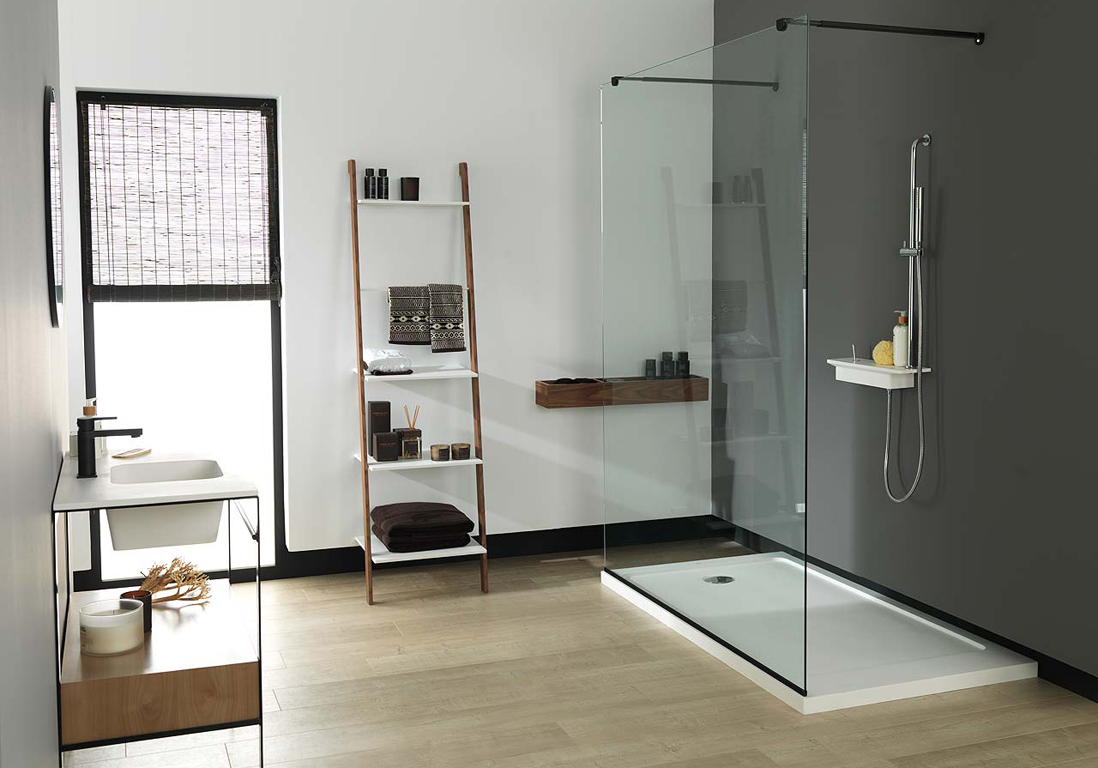 deco salle de bain avec douche italienne. Black Bedroom Furniture Sets. Home Design Ideas