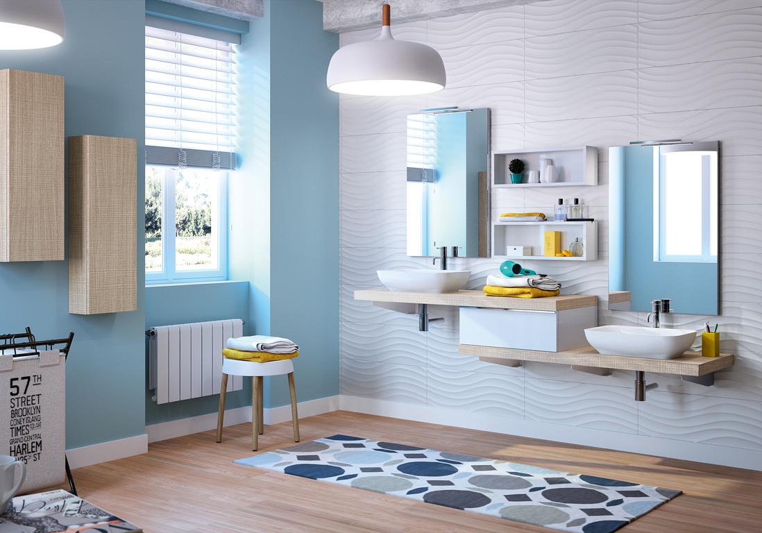 Connu Salle de bains enfant : nos inspirations pour une salle de bains  IN54