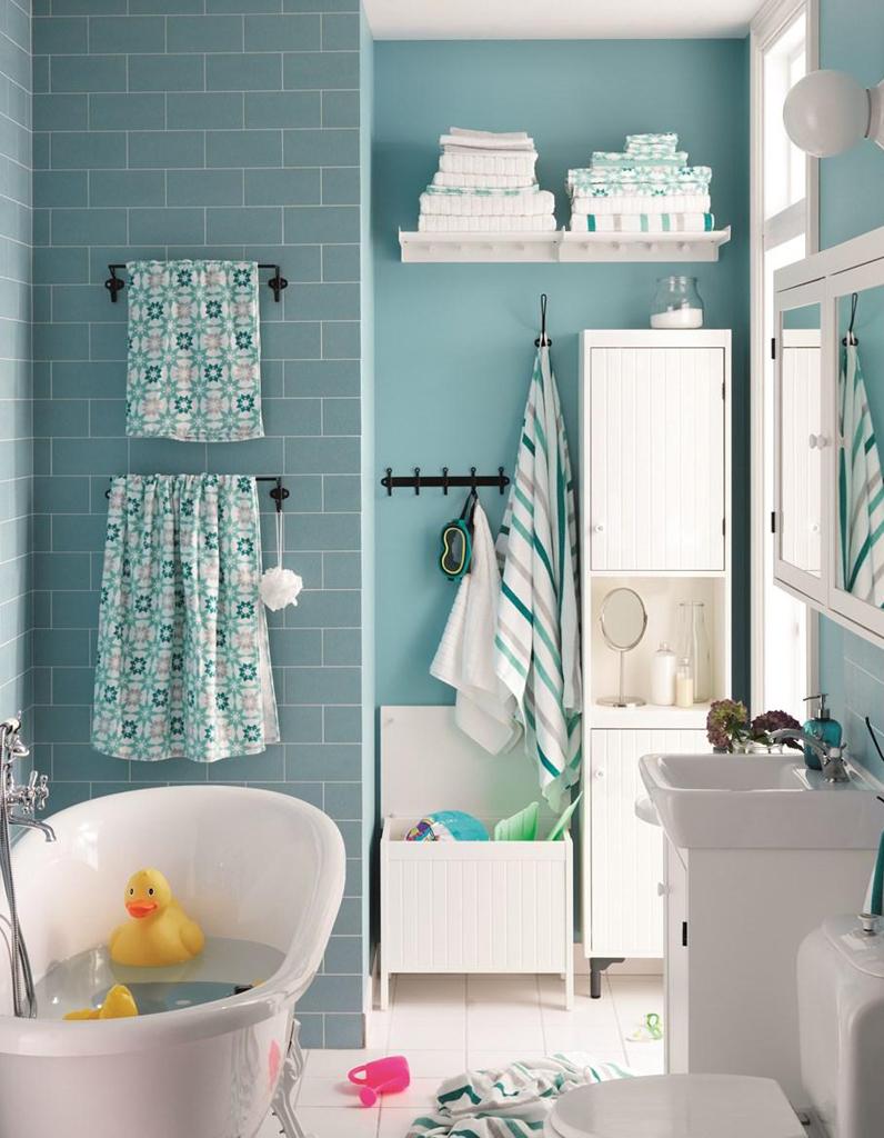 Salle de bains enfant nos inspirations pour une salle de for Salle de bain pour enfants