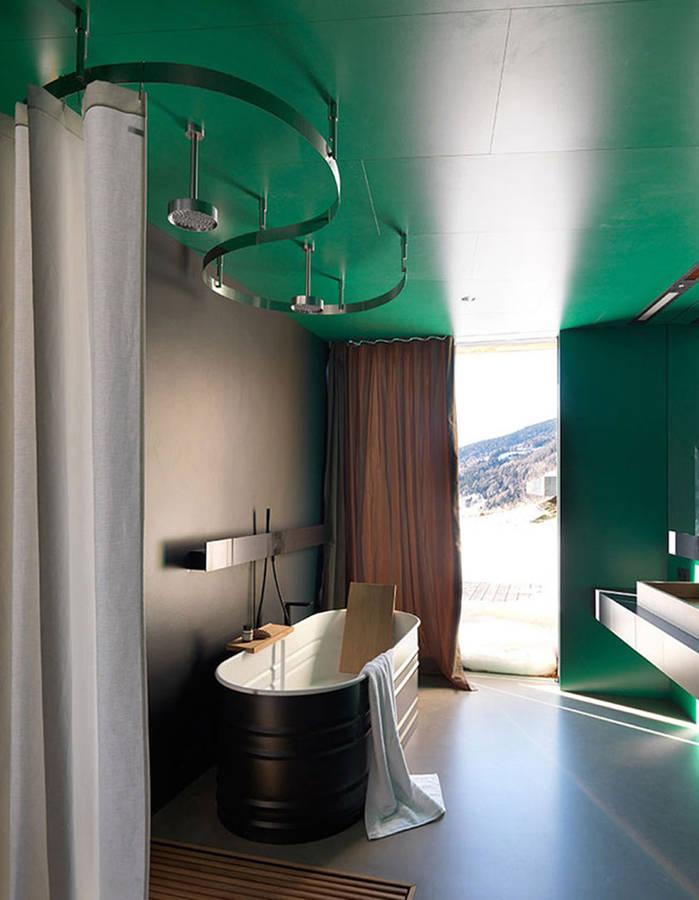 couleur salle de bains   15 astuces pour apporter de la couleur  u00e0 la salle de bains