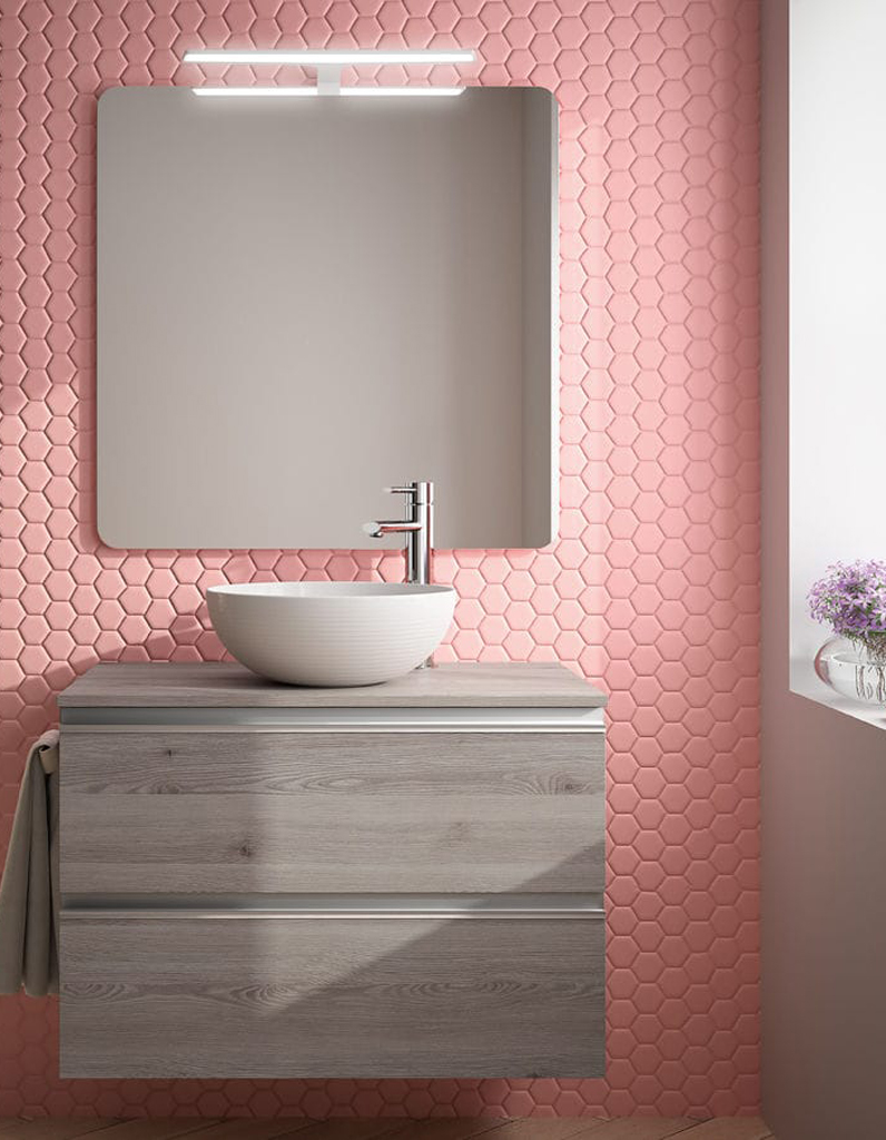 salle de bain revetement mural simple dco revetement. Black Bedroom Furniture Sets. Home Design Ideas