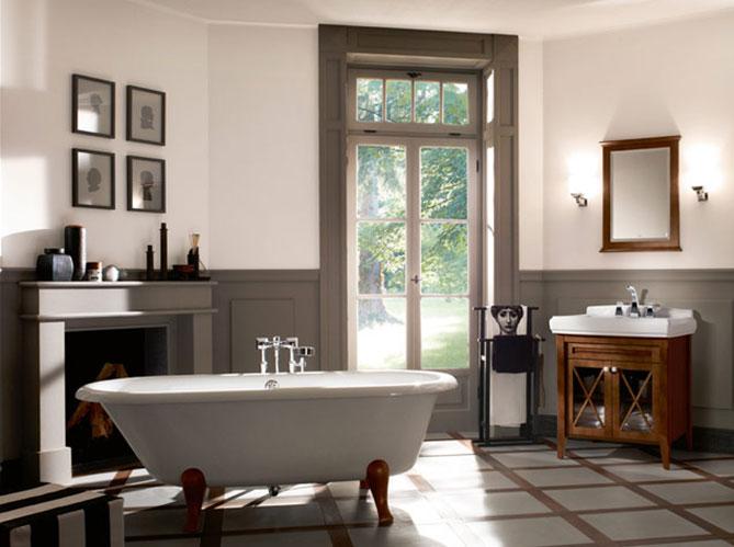Salle de bains r tro mettez vous dans le bain elle - Creer une salle de bain dans une chambre ...