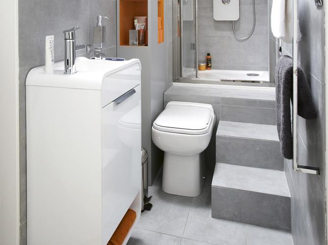 Meubles pour petite salle de bain for Decoration pour petite salle de bain