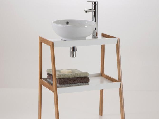 Meubles pour salle de bain meilleures images d 39 inspiration pour votre design de maison - Deco pour petite salle de bain ...
