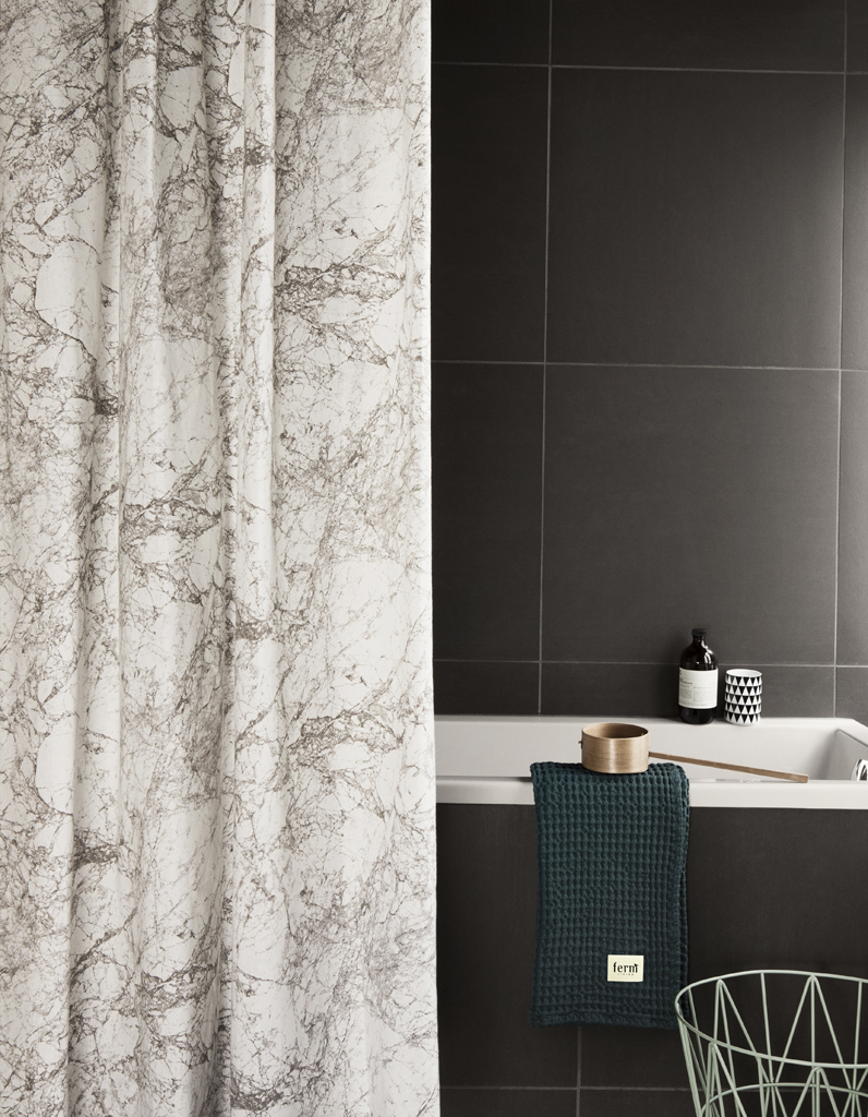 rideau de douche tissu luxe my blog. Black Bedroom Furniture Sets. Home Design Ideas