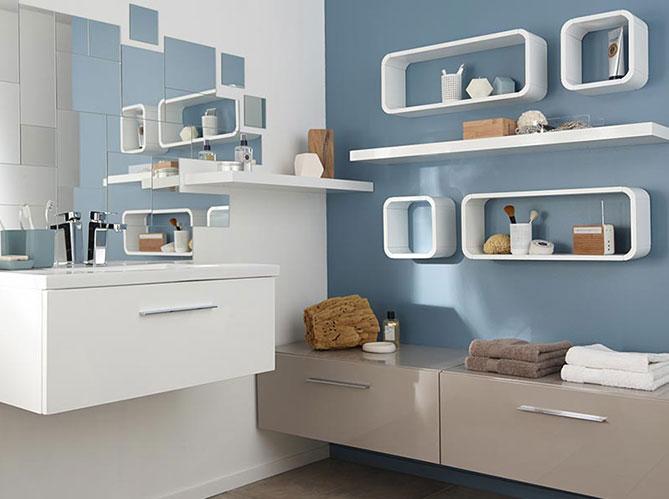 castorama s 39 invite dans la salle de bains elle d coration. Black Bedroom Furniture Sets. Home Design Ideas