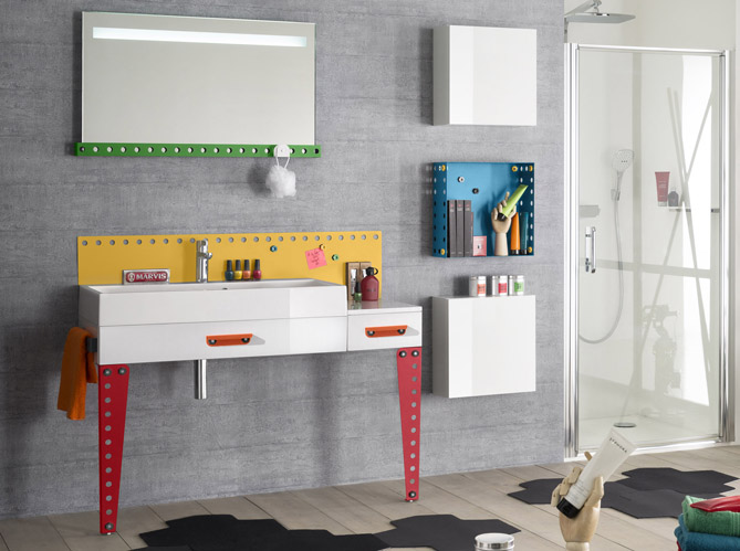meuble salle de bain enfant 20170828053910. Black Bedroom Furniture Sets. Home Design Ideas