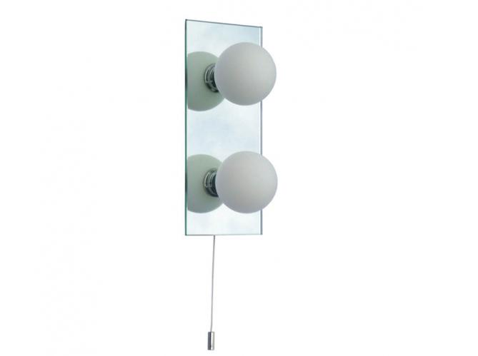 Luminaires salle de bain keria id e - Reglette murale infrarouge salle de bains ...