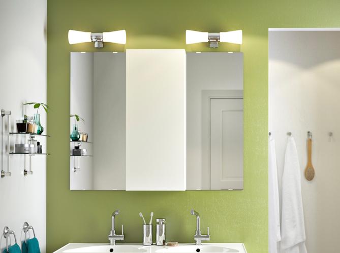 12 luminaires pour la salle de bains elle d coration - Luminaire pour salle de bain ikea ...