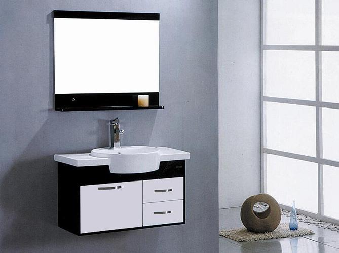 12 meubles de salle de bains pas chers elle d coration - Meuble salle de bain gris pas cher ...
