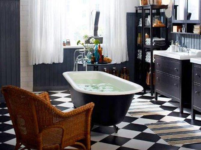 une baignoire l ancienne pour ma salle de bains elle d coration. Black Bedroom Furniture Sets. Home Design Ideas