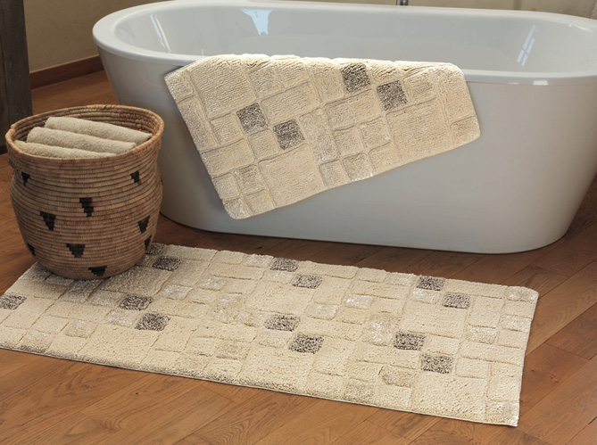 tapis de bain elle d coration. Black Bedroom Furniture Sets. Home Design Ideas
