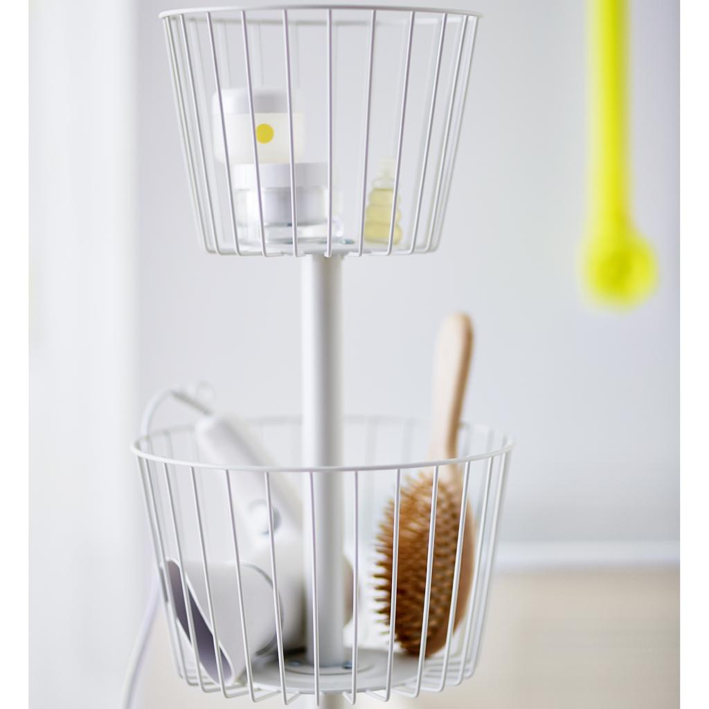 Ikea lance une collection sp ciale salle de bains elle d coration - Ikea panier de rangement ...