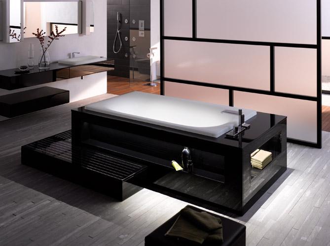 Les tendances 2012 pour la salle de bains elle d coration for Elle deco salle de bain