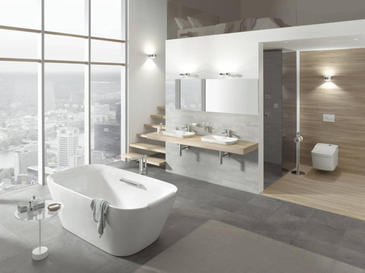 Nos id es avec des meubles de salle de bains design elle for Toto salle de bain