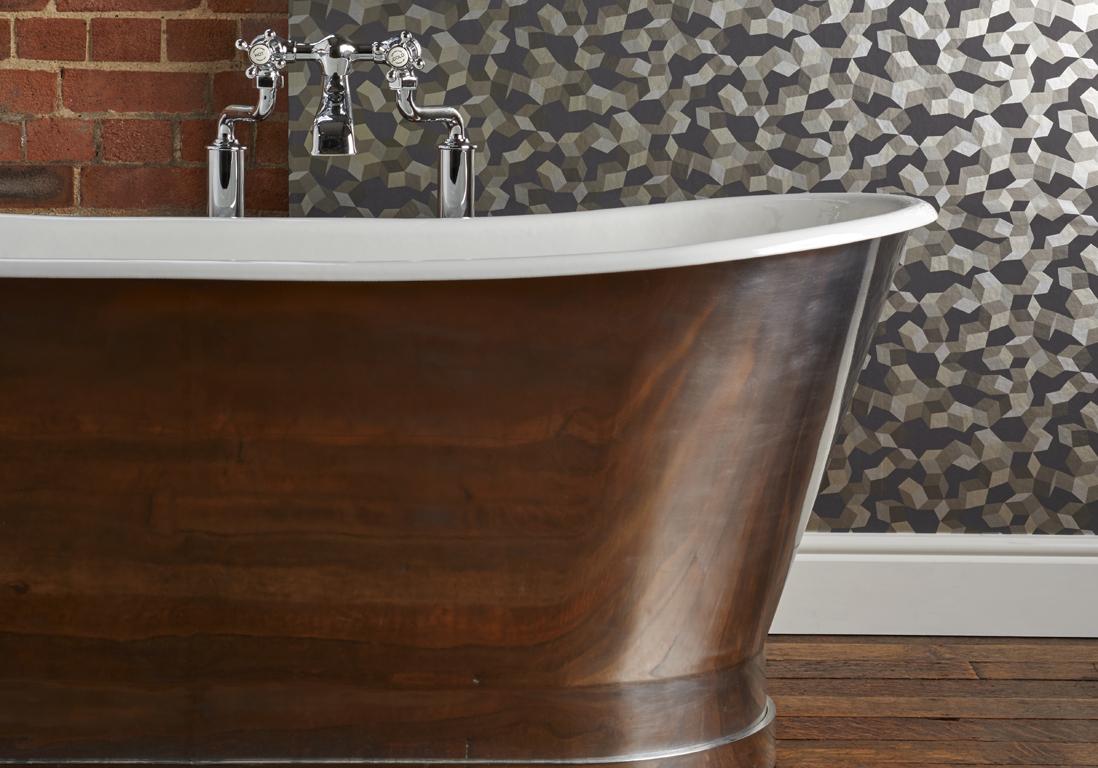 tapisserie salle de bain salle de bain feminine la salle de bain facminine racvale ses beautacs. Black Bedroom Furniture Sets. Home Design Ideas