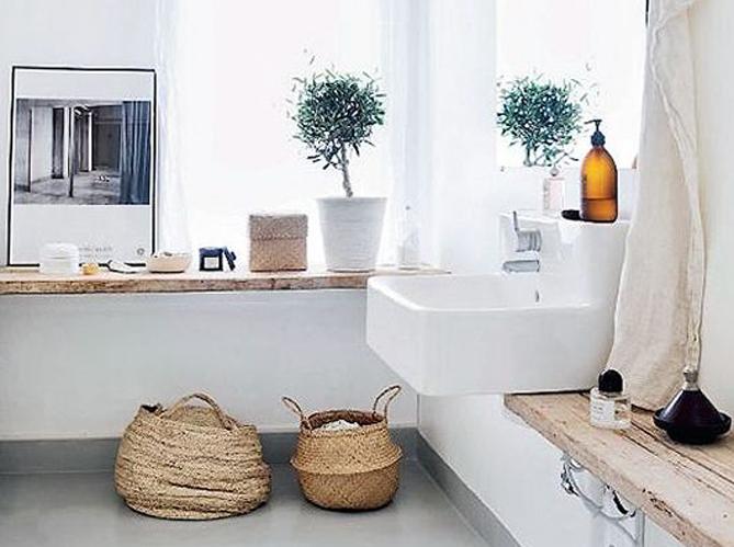15 id es d co pour une jolie salle de bains elle d coration - Idees deco salle de bains ...