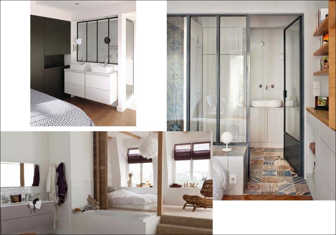 salle de bains suite parentale comment am nager une. Black Bedroom Furniture Sets. Home Design Ideas