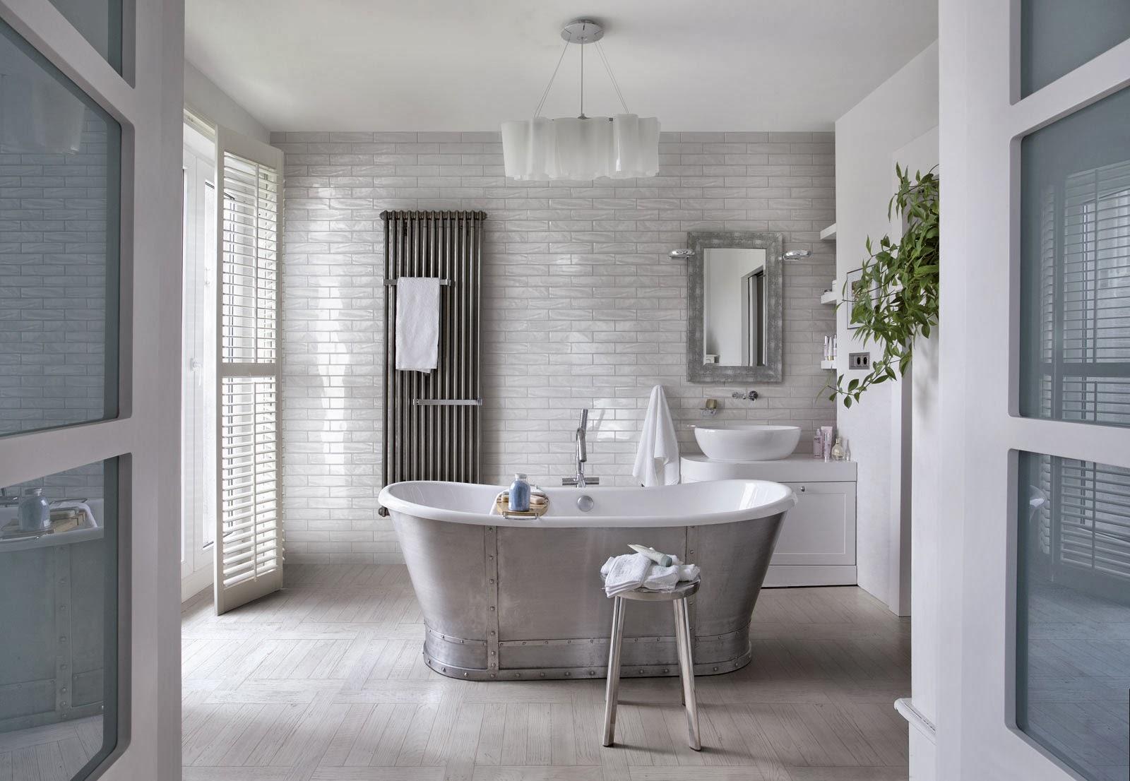Façons De Se Créer Une Salle De Bains Zen Elle Décoration - Idee carrelage salle de bain zen
