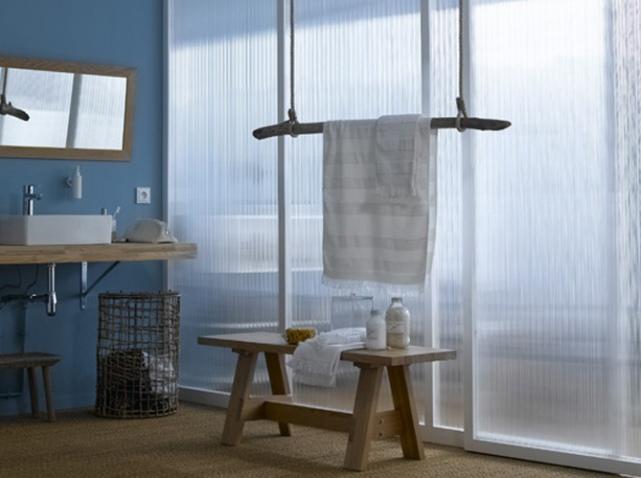 une salle de bains zen elle d coration. Black Bedroom Furniture Sets. Home Design Ideas