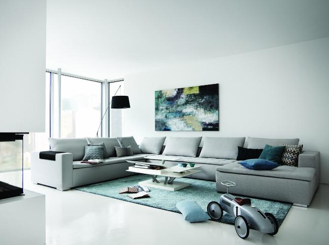 am nager un salon moderne elle d coration. Black Bedroom Furniture Sets. Home Design Ideas