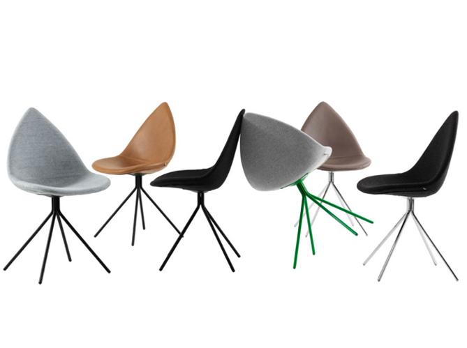50 chaises design pour un int rieur contemporain elle for Chaises colorees