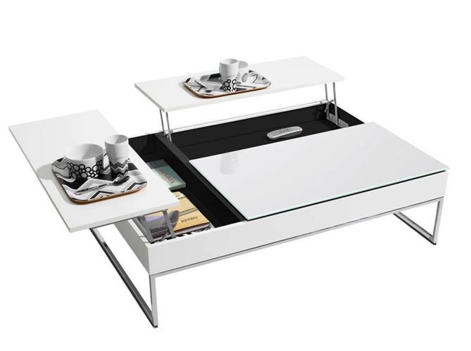 50 tables basses pour tous les styles elle d coration. Black Bedroom Furniture Sets. Home Design Ideas