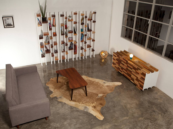 1 salon 1 biblioth que elle d coration. Black Bedroom Furniture Sets. Home Design Ideas