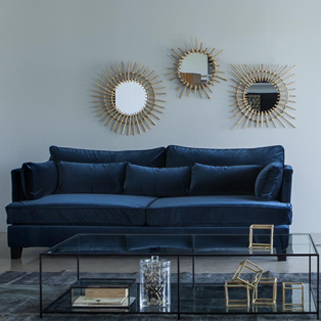 10 id es pour r chauffer son coin canap elle d coration. Black Bedroom Furniture Sets. Home Design Ideas