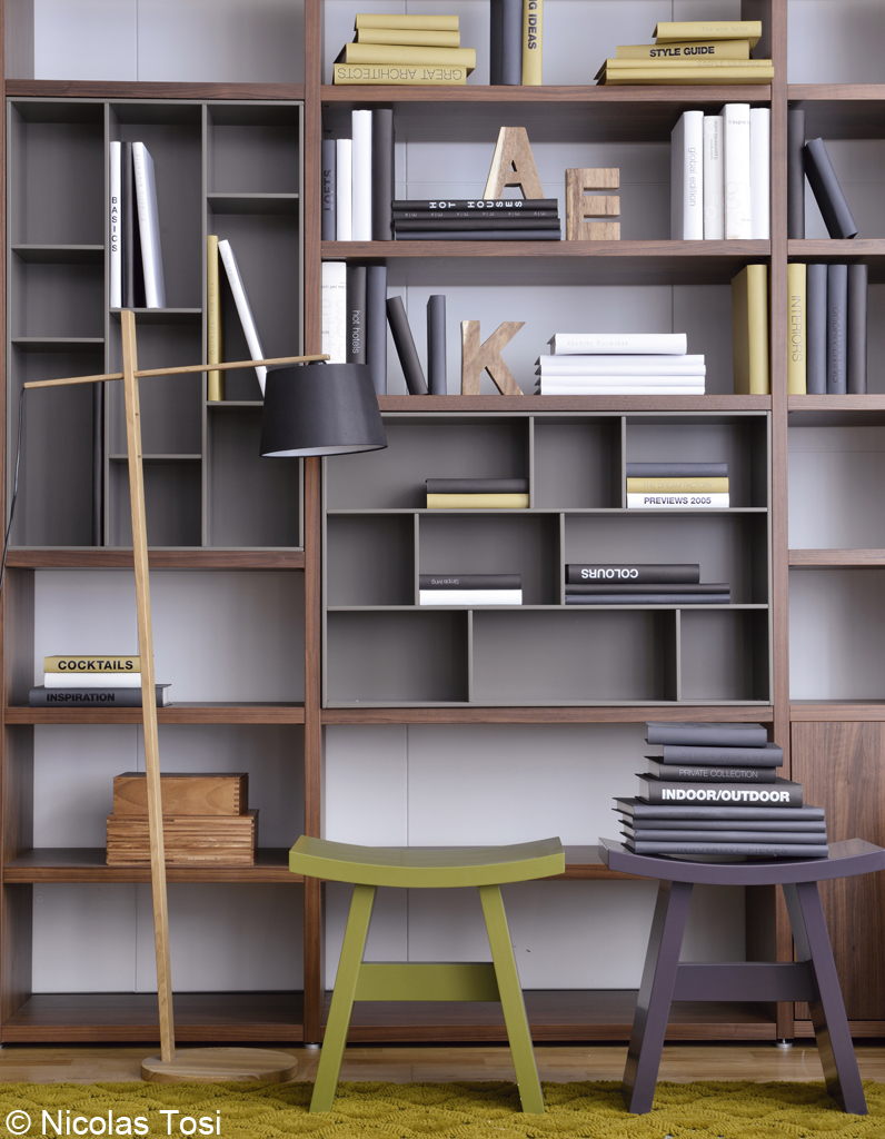 Biblioth que meuble salon sammlung von for Salon du meuble nantes